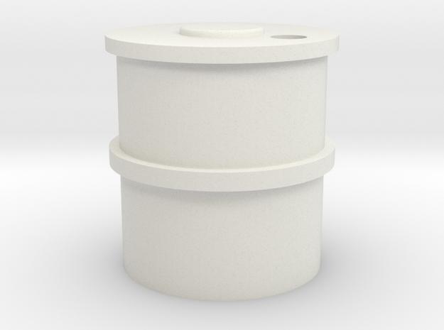 7mm Concrete Water Tank in White Natural Versatile Plastic