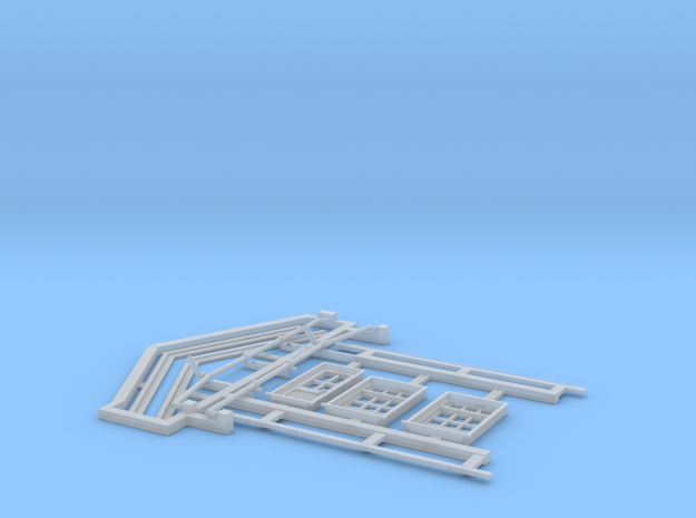 HO Gilmore PC Signal Box Detail Parts in Smooth Fine Detail Plastic