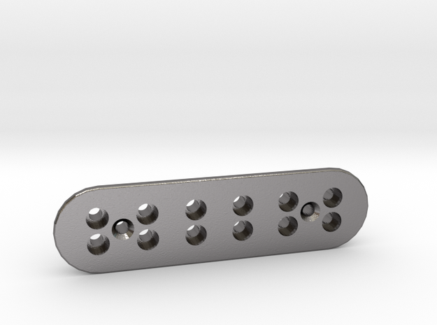 XII String plate in Polished Nickel Steel
