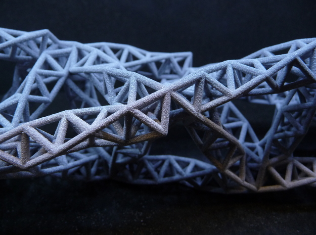 Tetrahedral Fractal Truss 3d printed