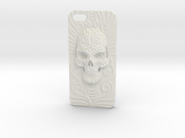 """Cara del Fin"" iPhone 5 case in White Natural Versatile Plastic"