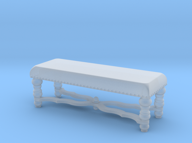 1:48 Nob Hill Bench in Smooth Fine Detail Plastic