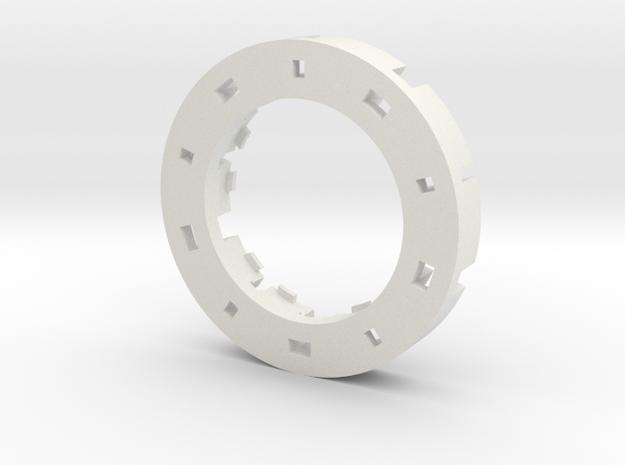 Low Profile SCW NPXL Holder  in White Natural Versatile Plastic