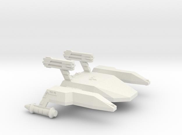3788 Scale Lyran Cave Jaguar War Dreadnought CVN in White Natural Versatile Plastic