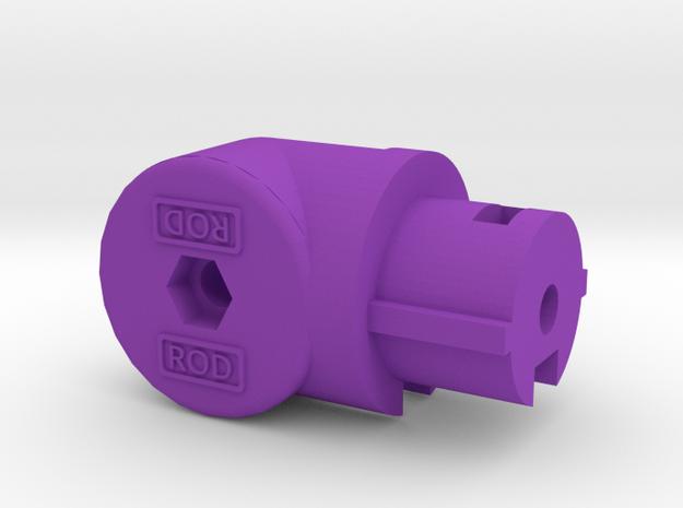 BufferTubeMount GEN4 in Purple Processed Versatile Plastic