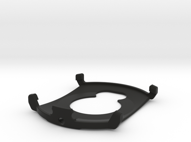 Garmin Instinct Barometer Cover in Black Natural Versatile Plastic