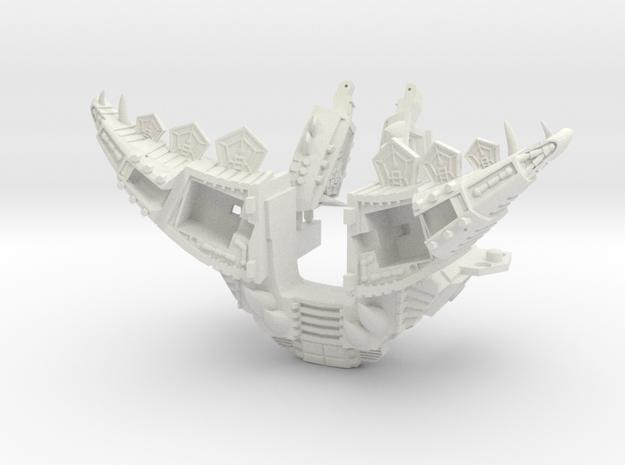 POTP Volcanicus Gnarly Armor in White Natural Versatile Plastic