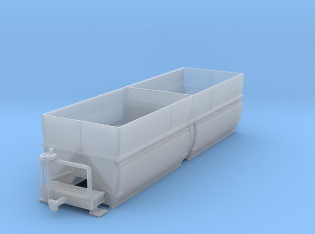 c-160fs-camargue-bogie-salt-wagon in Smooth Fine Detail Plastic