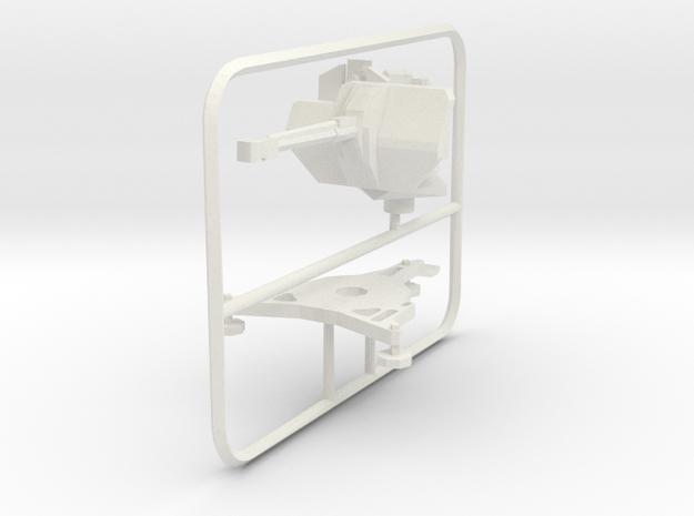 1/72 3cm Flak 103/38 Jaboschreck  in White Natural Versatile Plastic