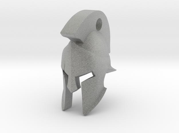 Keyring Spartan Helmet 3d printed
