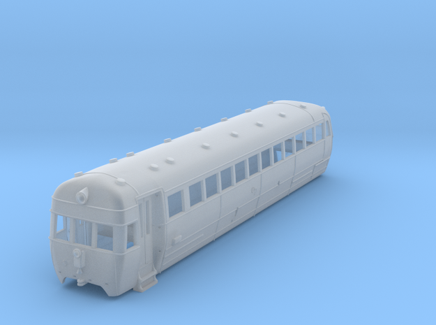 NZR Wairarapa Railcar 1:120 in Smoothest Fine Detail Plastic