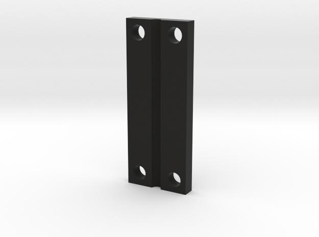 TZK006P Toyzuki Sway Bar Plate in Black Natural Versatile Plastic