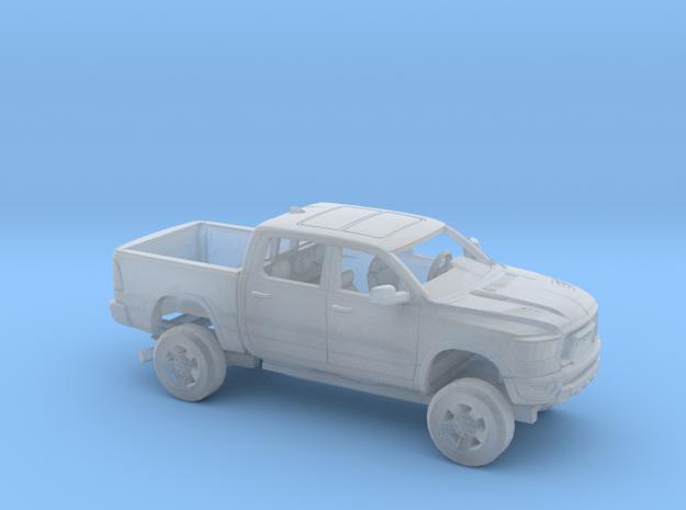 1/160 2019 Dodge Ram 1500 Rebel Short Bed in Smooth Fine Detail Plastic