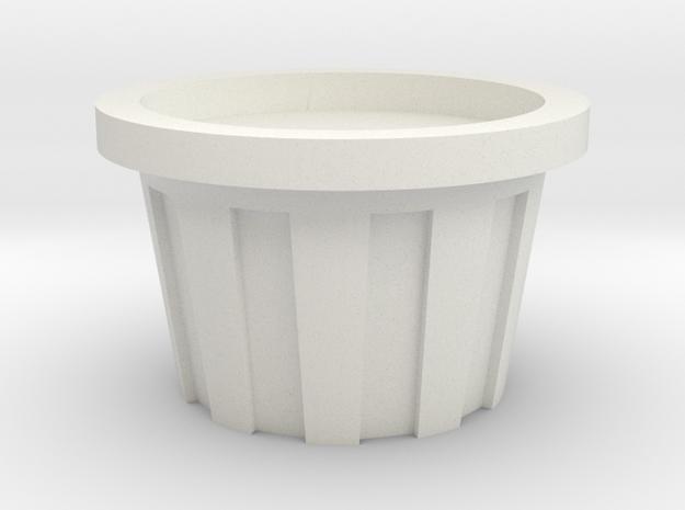 1/64 protein lick tub in White Natural Versatile Plastic