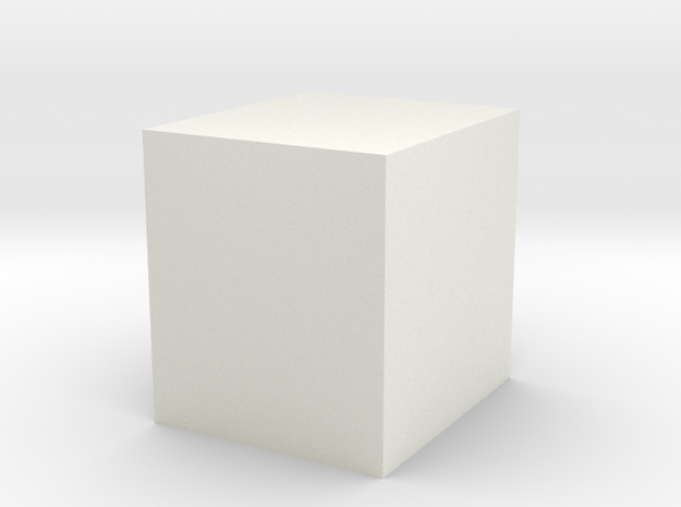 Most Expensive Plastic Item for Sale on Shapeways in White Natural Versatile Plastic