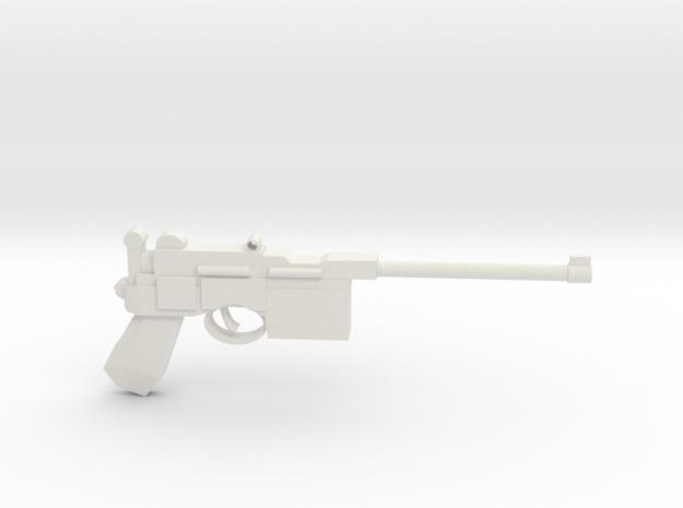 MauserC96 in White Natural Versatile Plastic