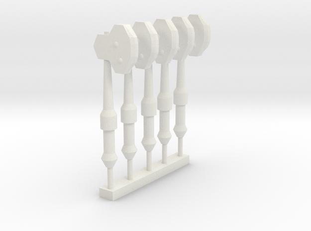 Axe SET in White Natural Versatile Plastic