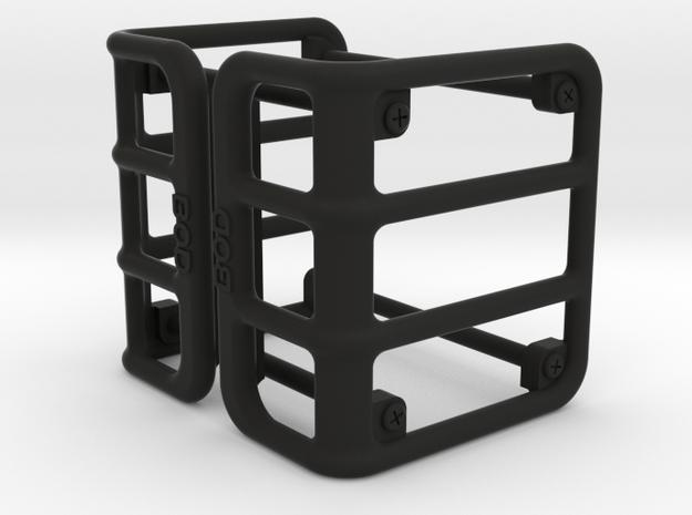 Jeep Wrangler Ingora version Taillights Protection in Black Natural Versatile Plastic: 1:10