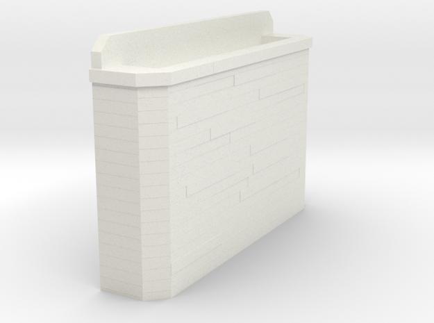 Concrete Bridge Abutment 3d printed