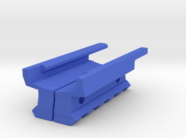 Bottom Picatinny Rail (5 Slots) for USP in Blue Processed Versatile Plastic