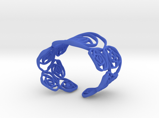 BLACK ROSE  Armband  3d printed