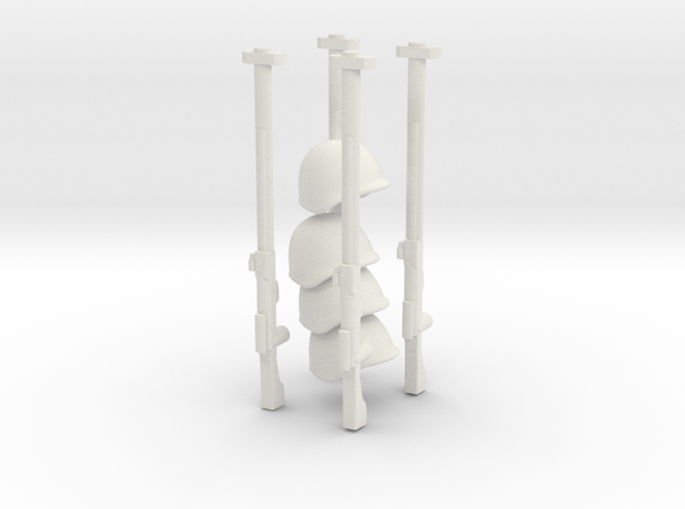 Kit Russe in White Natural Versatile Plastic