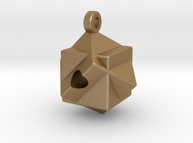 Straight Shot Pendent 3d printed