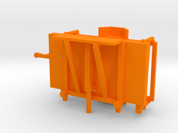 Wanco WTLMB Traffic Sign in Orange Processed Versatile Plastic: 1:43
