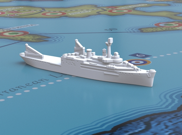 Curtiss Seaplane Tender [x4] in White Natural Versatile Plastic