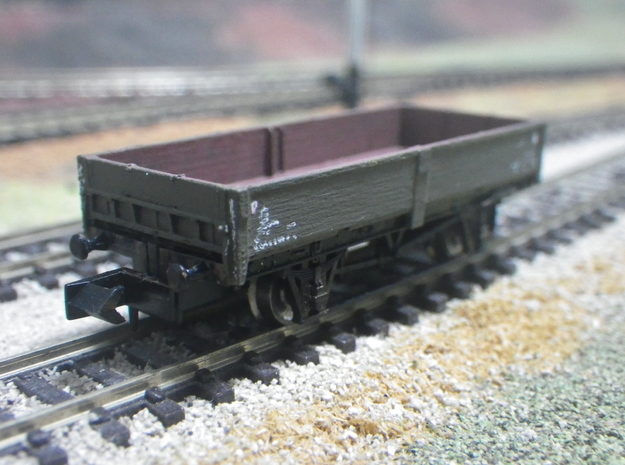 ZCV Crab to fit N-gauge Dapol 12'wb chassis in Smoothest Fine Detail Plastic