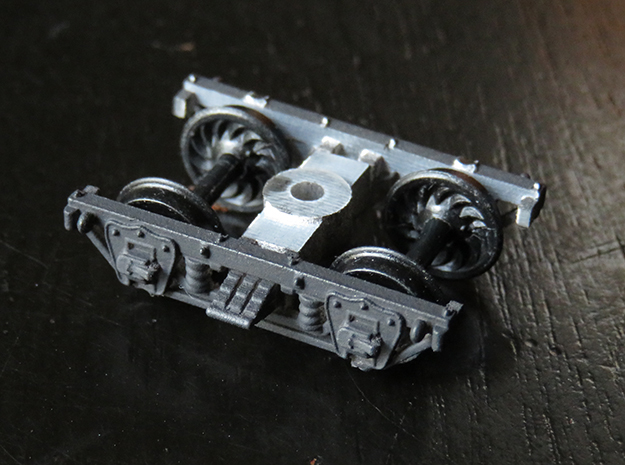 East Broad Top #29 TRUCK ONLY for Kadee wheelsets in Smoothest Fine Detail Plastic