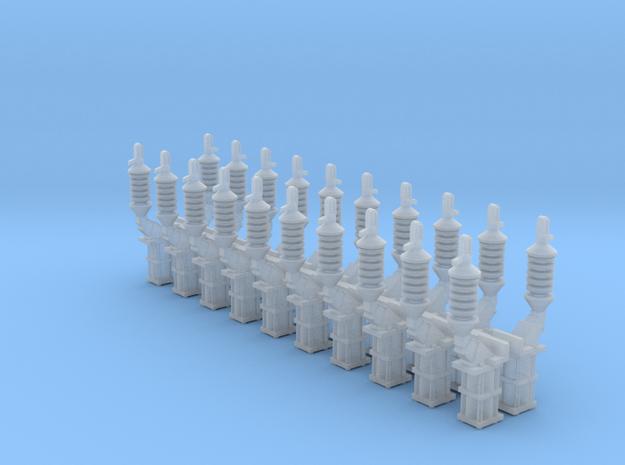Isolateurs de levée de panto MT in Smoothest Fine Detail Plastic