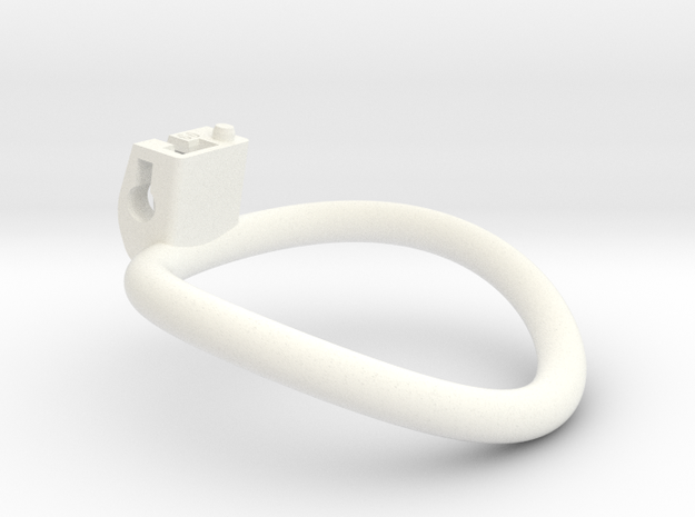 Cherry Keeper Ring - 60mm in White Processed Versatile Plastic