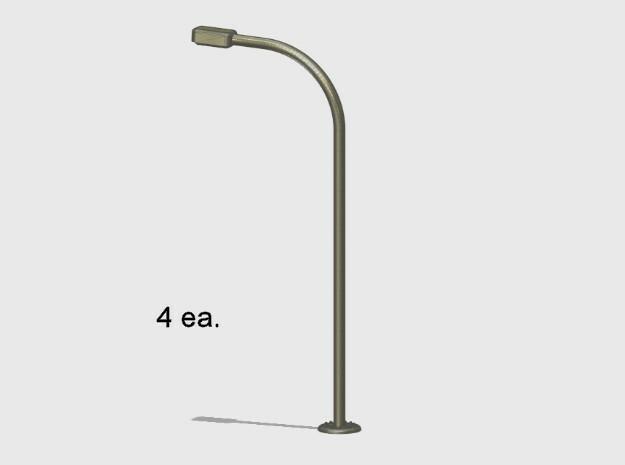Street Light Standard in White Natural Versatile Plastic: 1:87 - HO