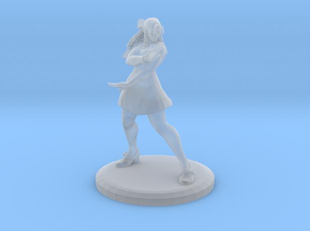 Karin W/ Base (Street Fighter V Fan Art) in Smooth Fine Detail Plastic