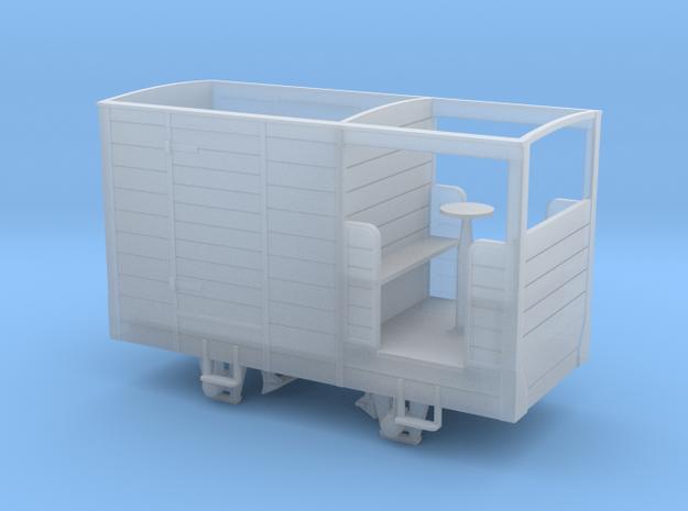 RNAD Trecwn Brake Vans 11 and 13 in Smoothest Fine Detail Plastic