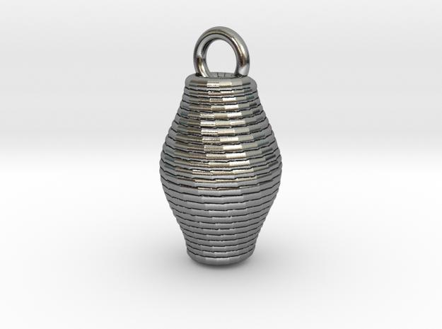 Basket in Antique Silver