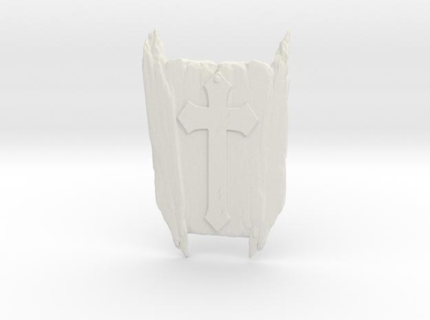 Dracul's Tomb in White Natural Versatile Plastic