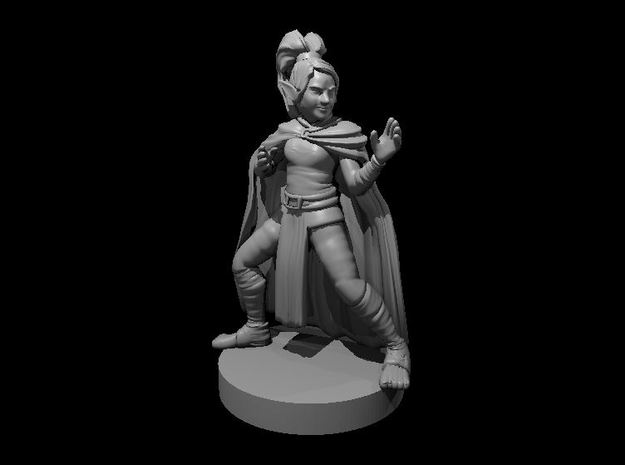 Gnome Female Monk in Smooth Fine Detail Plastic