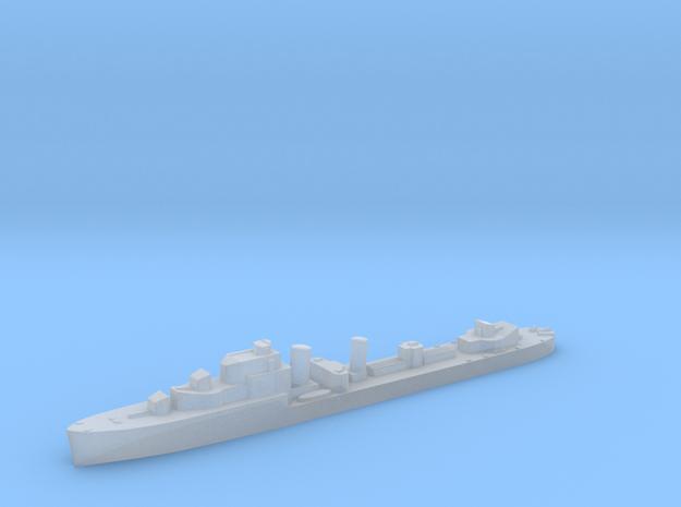 HMS Harvester destroyer 1:3000 WW2 in Smoothest Fine Detail Plastic