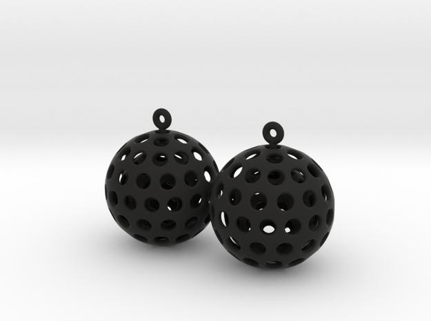SPIN - earrings 3d printed