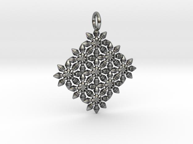 Pendulum in Antique Silver