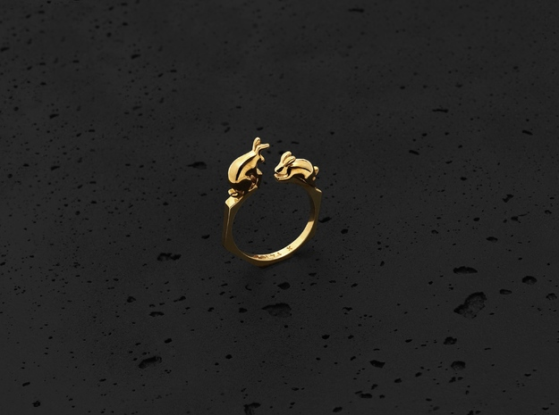Rabbit Ring (Gold)