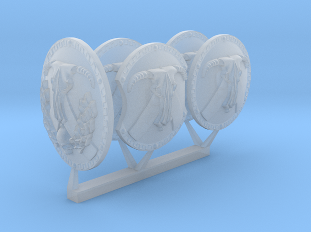 minotaurs energy shields in Smoothest Fine Detail Plastic