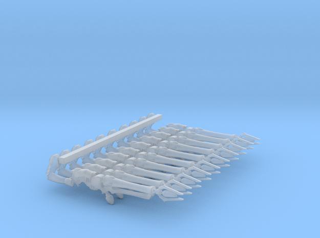 Space Elf - Dark Eldar - Haywire With Arm x10 in Smooth Fine Detail Plastic