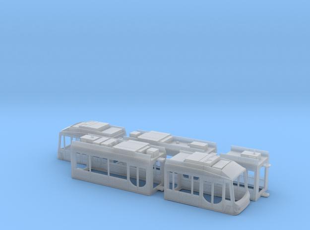 City-Bahn Chemnitz Variobahn in Smooth Fine Detail Plastic: 1:120 - TT