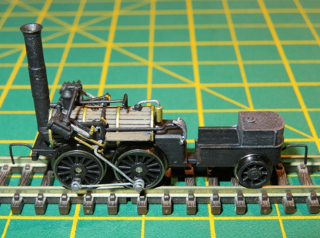 N Gauge Invicta Loco Scratch Aid (V1 Original) in Smooth Fine Detail Plastic