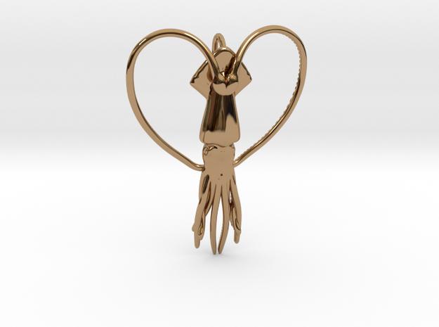 Squid Heart 3d printed