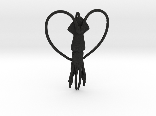 Squid Heart 3d printed