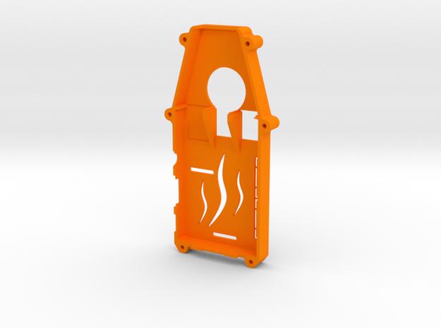 ADS-B Stratux Case Top in Orange Processed Versatile Plastic